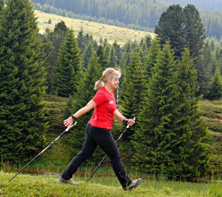Anna Sessi Nordic Walking dieta GIFT